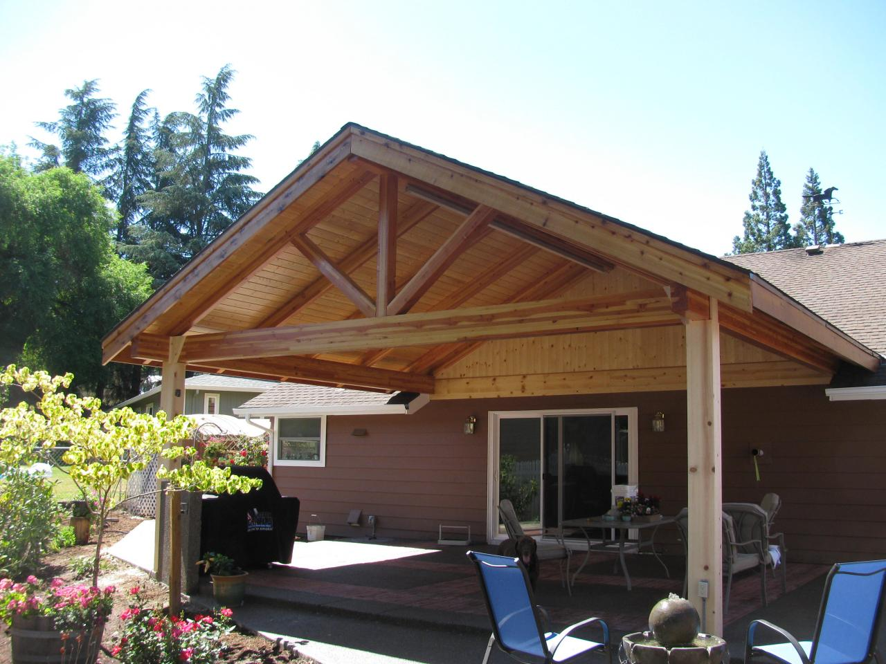 attached carport design ideas with Custom Patio Covers 5 on Best Garage Flooring Options furthermore Carports Gold Coast likewise Ranch House Style Defining Suburbs likewise Watch together with Top 20 Pergola Designs.